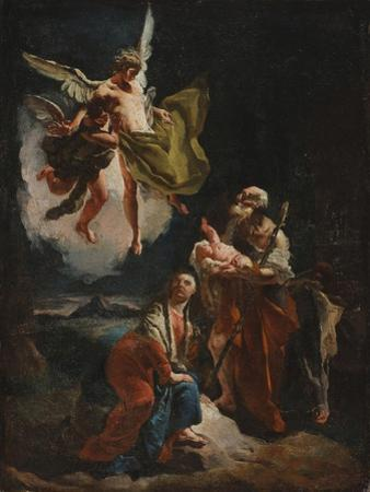 The Rest on the Flight into Egypt, C.1720 by Giovanni Battista Tiepolo
