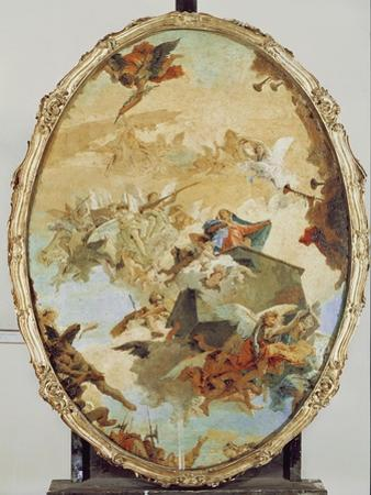 Translation of the Holy House from Nazareth to Loreto by Giovanni Battista Tiepolo