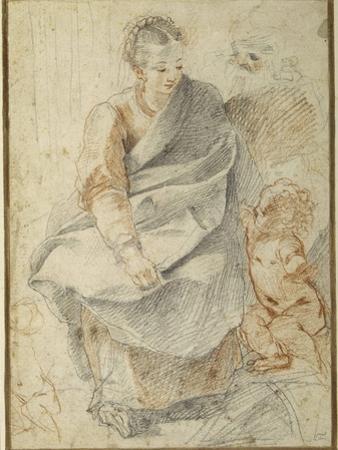 The Holy Family by Giovanni Battista Vanni