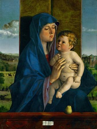 Madonna and Child. by Giovanni Bellini