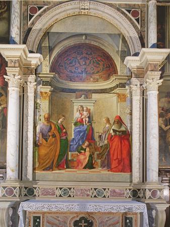 San Zaccaria Altarpiece, 1505