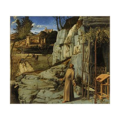 St. Francis of Assisi in the Desert, C.1480