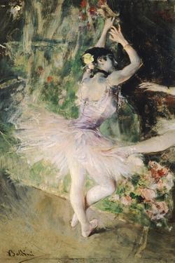 At Dance School, Circa 1880 by Giovanni Boldini