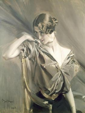 Cleo De Merode, Famous Dancer at the Opera in Paris by Giovanni Boldini