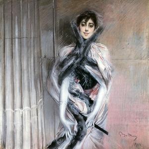 Emiliana Concha De Ossa, 1901 by Giovanni Boldini
