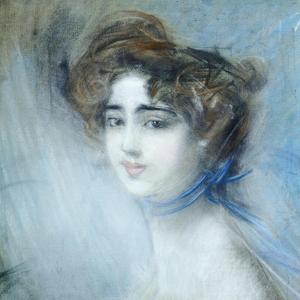 Female Portrait by Giovanni Boldini