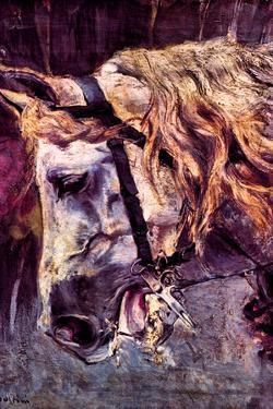 Giovanni Boldini Head of a Horse