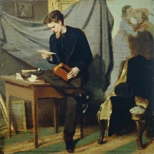 Lanfredini Self-Portrait, Circa 1866 by Giovanni Boldini