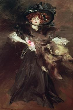 Mademoiselle Lanthelme, 1907 by Giovanni Boldini