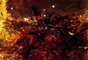 Giovanni Boldini Night in Monmartre Art Print Poster