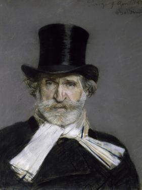 Portrait of Giuseppe Verdi, 1886 by Giovanni Boldini