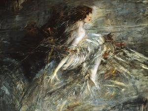 Portrait of Marchesa Casati by Giovanni Boldini