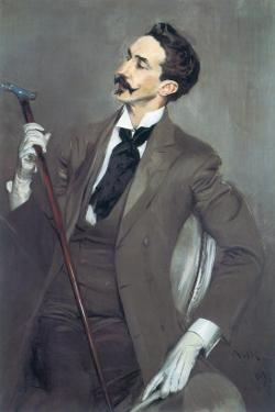 Portrait of Robert de Montesquiou by Giovanni Boldini