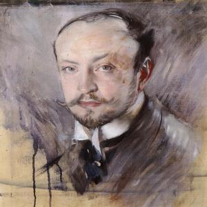 Self-Portrait, Front View by Giovanni Boldini
