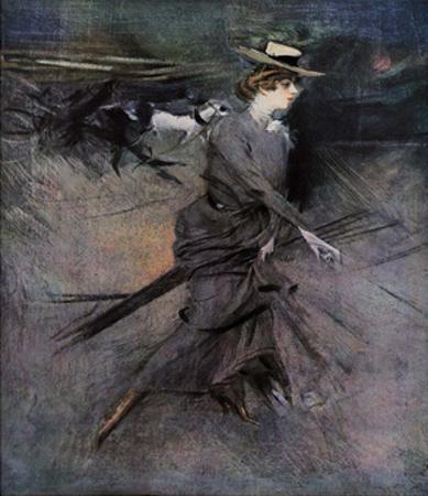 Walking, 1910 by Giovanni Boldini