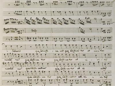 Music Score from Astarto, 1715