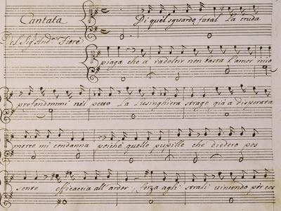 Music Score from Song on Princess Amelia
