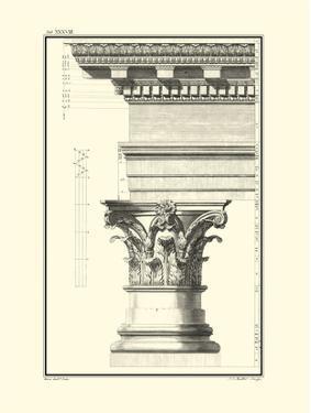 Column and Cornice I by Giovanni Borra