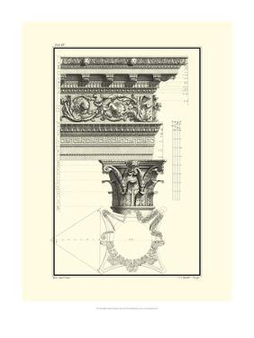 Crackled Column and Cornice II by Giovanni Borra