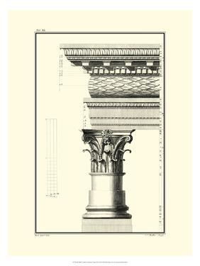 Crackled Column and Cornice III by Giovanni Borra