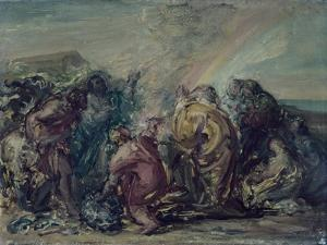 Holocaust of Noah by Giovanni Carnovali (Piccio)