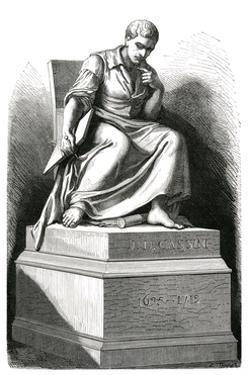 Giovanni Cassini Statue by E Thomas