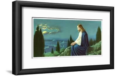 Christus am Olberg by Giovanni