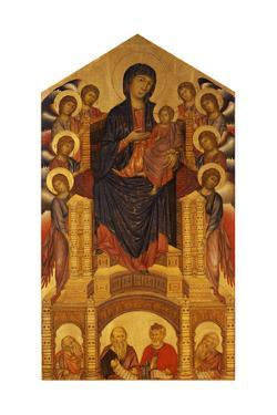 Maesta of Santa Trinita, C. 1280 by Giovanni Cimabue