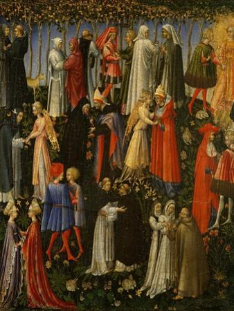 Paradise, 1445 by Giovanni di Paolo