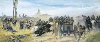Assault on Madonna Della Scoperta, Circa 1864-1868