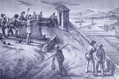 Defense of Livorno from Fort San Pietro