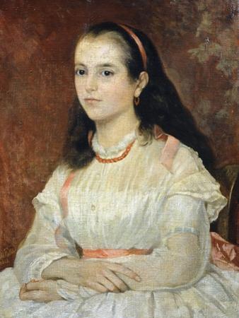 Portrait of Miss Siccoli, 1866