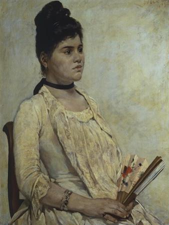 Portrait of Stepdaughter Giulia Marinelli, 1889
