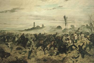 The Battle of Montebello, 1862