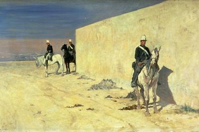 The Watch (The White Wall), C.1871