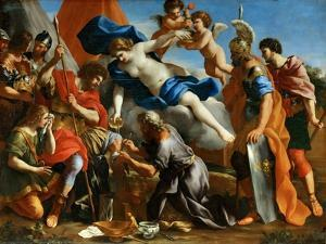 Venus Pouring a Balm on the Wound of Aeneas by Giovanni Francesco Romanelli