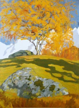 Autumn, c.1903 by Giovanni Giacometti