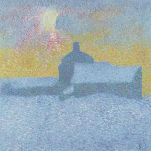 Winter Fog (Winter in Maloj) by Giovanni Giacometti
