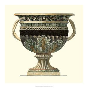 Crackled Large Giardini Urn II by Giovanni Giardini