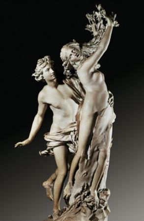 Apollo and Daphne by Giovanni Lorenzo Bernini
