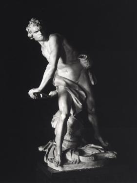 David, Gian Lorenzo Bernini, Galleria Borghese, Rome by Giovanni Lorenzo Bernini