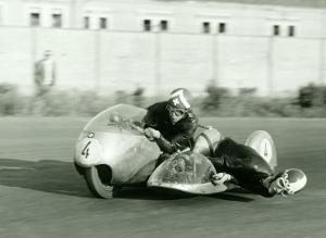 BMW Side Car Motorcycle by Giovanni Perrone