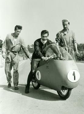 Guzzi GP Dustbin Motorcycle by Giovanni Perrone