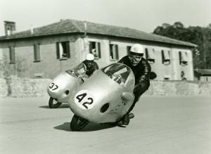 NSU GP Motorcycle by Giovanni Perrone