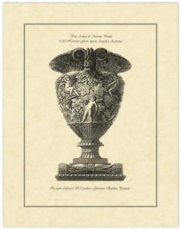 Vintage Harvest Urn I