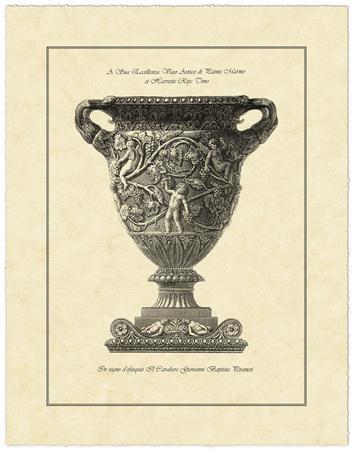 Vintage Harvest Urn II