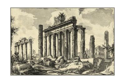 Vintage Roman Ruins I