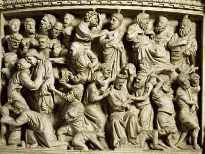 Betrayal and Capture of Christ, Scene from the Life of Christ