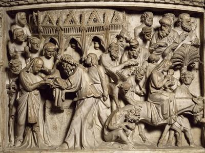 Flight into Egypt, Scene from the Life of Christ, Panel on the Pulpit in the Cathedral of Pisa