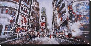 Evening in Times Square by Giovanni Russo